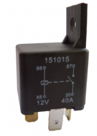 4 Pin automotive type 12volt 40 Amp relay <br>ALT/RY15-02